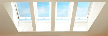electric venting skylights